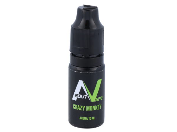 About Vape - Aroma Crazy Monkey 10ml 10er Packung