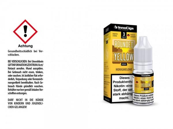 Rounded Yellow Honigmelonen Aroma - Liquid für E-Zigaretten 3 mg/ml 10er Packung