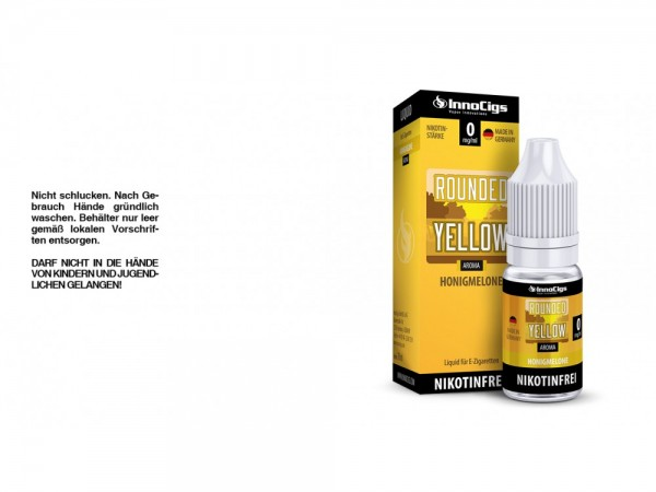 Rounded Yellow Honigmelonen Aroma - Liquid für E-Zigaretten 0 mg/ml 10er Packung