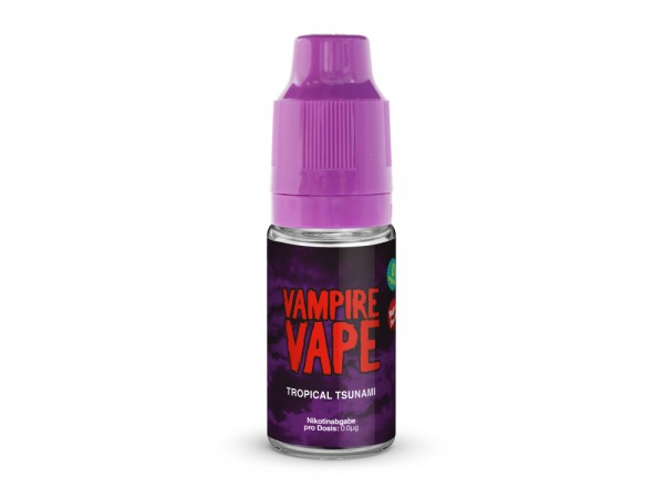 Vampire Vape Tropical Tsunami- E-Zigaretten Liquid 6 mg/ml