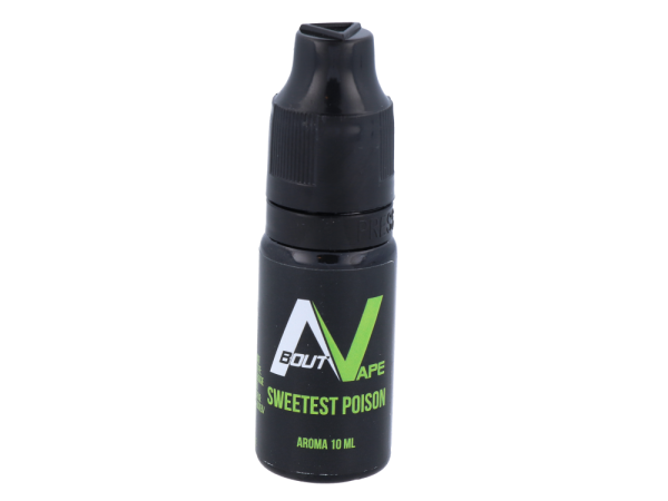 About Vape - Aroma Sweetest Poison 10ml 10er Packung
