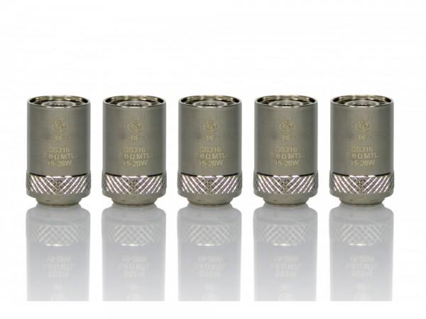 InnoCigs BF SS316 Heads 0,6 Ohm (5 Stück pro Packung)