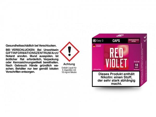 SC Easy 3 Caps Red Violet Amarenakirsche 18 mg/ml (2 Stück pro Packung)