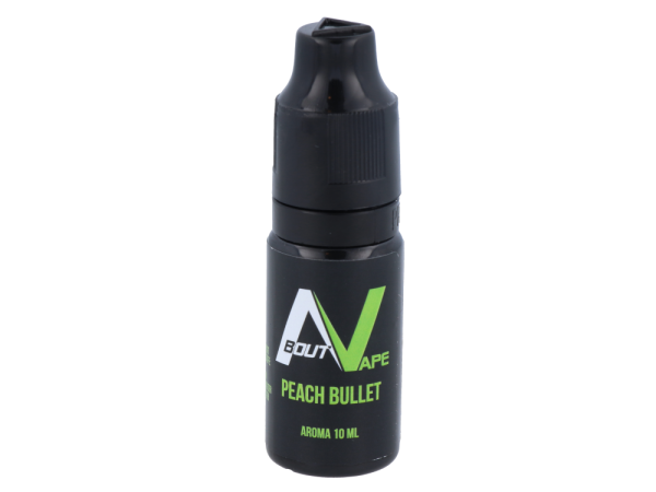 About Vape - Aroma Peach Bullet 10ml 10er Packung