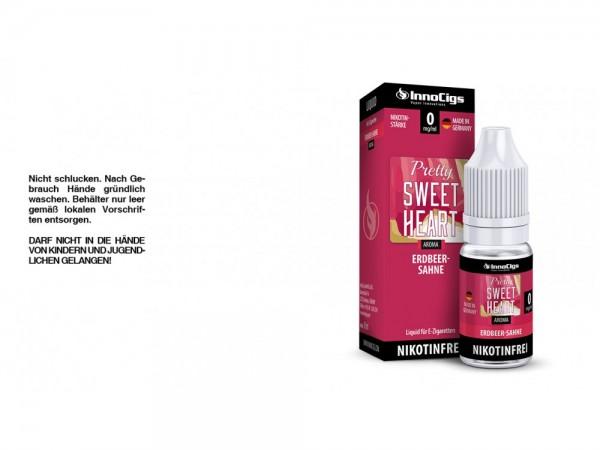 Pretty Sweetheart Sahne-Erdbeer Aroma - Liquid für E-Zigaretten 0 mg/ml 10er Packung