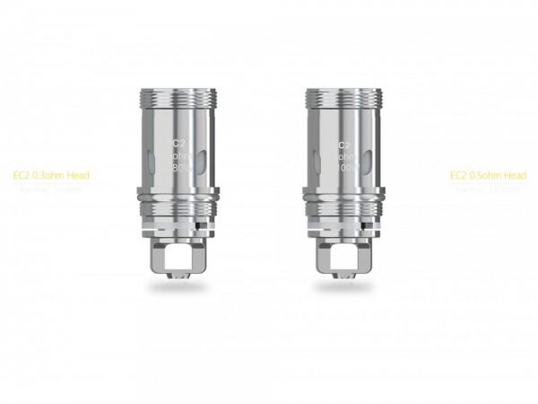 SC EC2 Heads 0,5 Ohm (5 Stück pro Packung) 10er Packung
