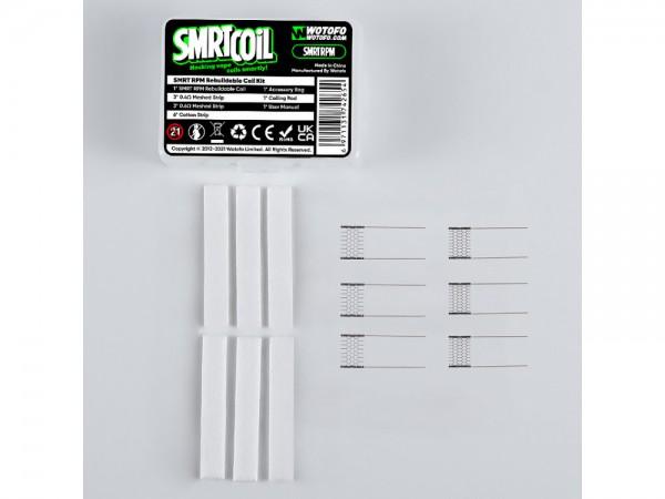 Wotofo SMRT RPM Meshed-Cotton Set 10er Packung