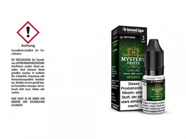 Mystery Fruits Kaktusfeige Aroma - Liquid für E-Zigaretten 3 mg/ml 10er Packung