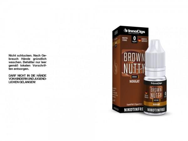 Brown Nutty Nougat Aroma - Liquid für E-Zigaretten 0 mg/ml 10er Packung