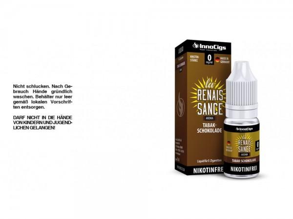 La Renaissance Tabak-Schokoladen Aroma - Liquid für E-Zigaretten 0 mg/ml 10er Packung