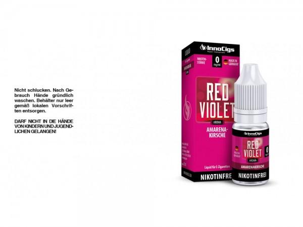 Red Violet Amarenakirsche Aroma - Liquid für E-Zigaretten 0 mg/ml 10er Packung