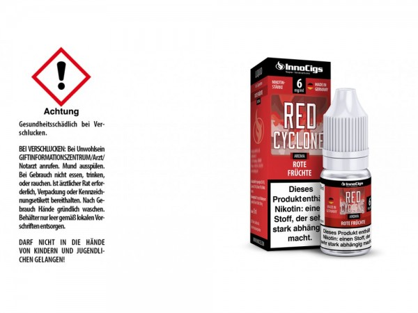 Red Cyclone Rote Früchte Aroma - Liquid für E-Zigaretten 6 mg/ml