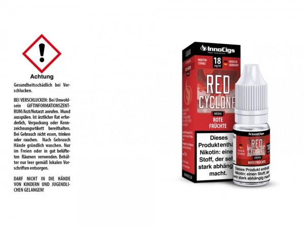 Red Cyclone Rote Früchte Aroma - Liquid für E-Zigaretten 18 mg/ml 10er Packung