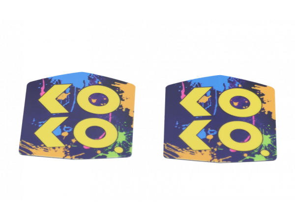 Uwell Caliburn Koko Prime Abdeckung gelb (2 Stück pro Packung)