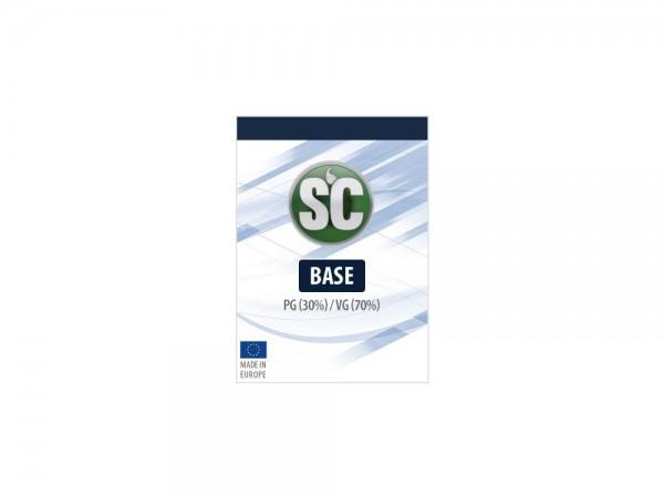 1 Liter Basis 70VG / 30PG 0 mg/ml 6er Packung