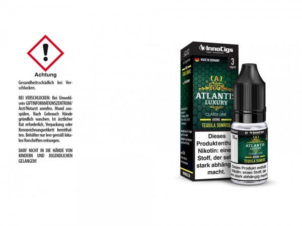Atlantis Luxury Tequila Sunrise Aroma - Liquid für E-Zigaretten 3 mg/ml 10er Packung