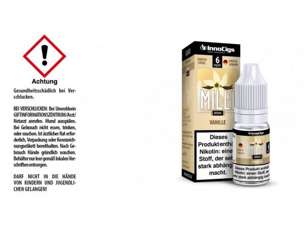 Milli Vanille Aroma - Liquid für E-Zigaretten 6 mg/ml 10er Packung