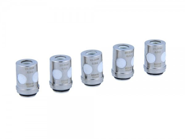 Vaporesso Ceramic EUC SS316L Heads 0,5 Ohm (5 Stück pro Packung) 10er Packung