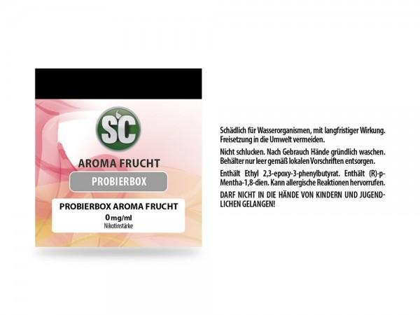 Fruit Probierbox E-Zigaretten Liquid 0 mg/ml 10er Packung