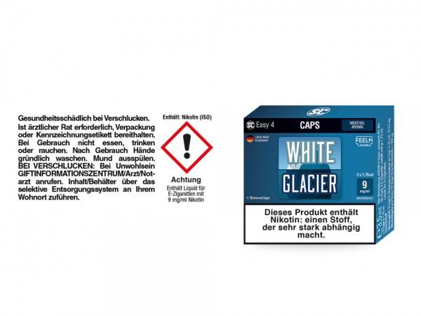 SC Easy 4 Caps White Glacier Fresh 9 mg/ml (2 Stück pro Packung) 5er Packung