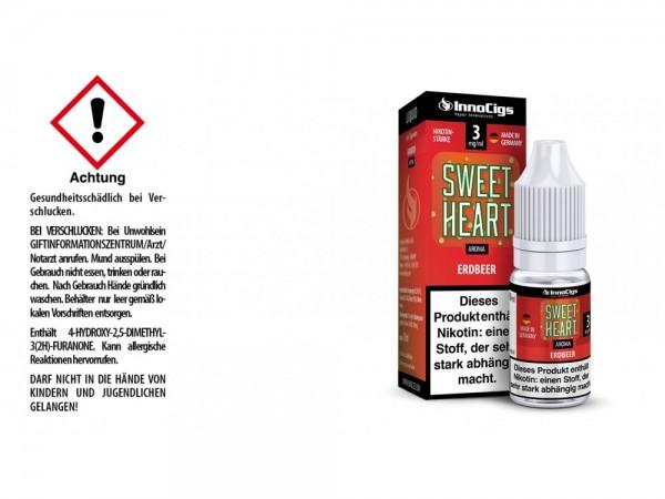 Sweetheart Erdbeer Aroma - Liquid für E-Zigaretten 3 mg/ml 10er Packung