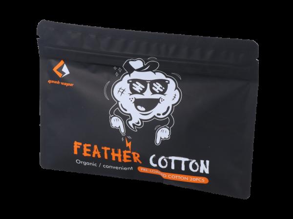 GeekVape Feather Cotton Threads (20 Stück pro Packung)