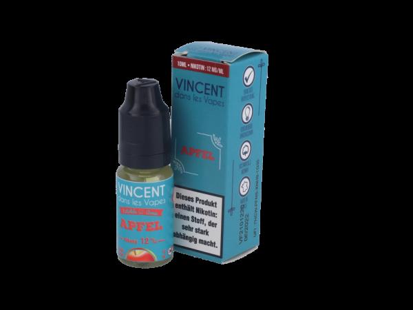 Vincent dans les Vapes Apfel - E-Zigaretten Liquid 12 mg/ml 10er Packung