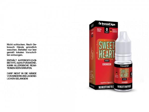Sweetheart Erdbeer Aroma - Liquid für E-Zigaretten 0 mg/ml