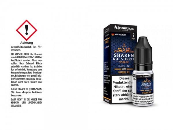 Shaken, not stirred Orangen Aroma - Liquid für E-Zigaretten 9 mg/ml