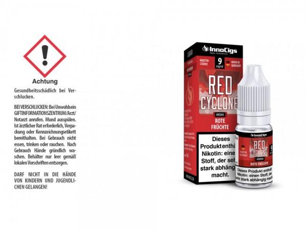 Red Cyclone Rote Früchte Aroma - Liquid für E-Zigaretten 9 mg/ml 10er Packung
