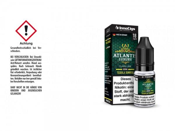 Atlantis Luxury Tequila Sunrise Aroma - Liquid für E-Zigaretten 18 mg/ml 10er Packung