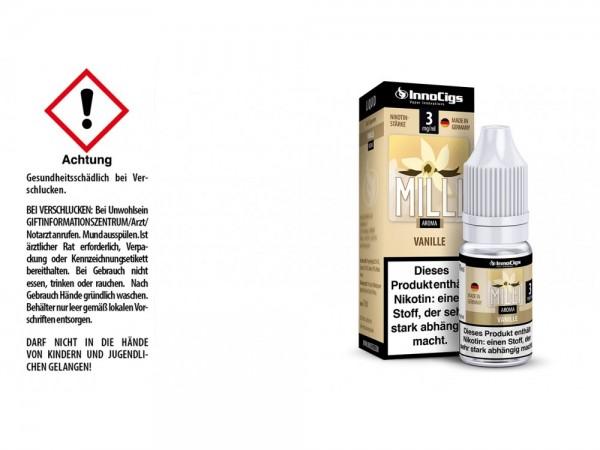Milli Vanille Aroma - Liquid für E-Zigaretten 3 mg/ml 10er Packung