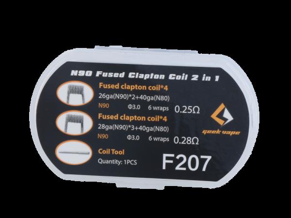 Geekvape N90 Fused 2 in 1 Clapton Head Set 20er Packung