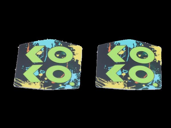 Uwell Caliburn Koko Prime Abdeckung grün (2 Stück pro Packung)