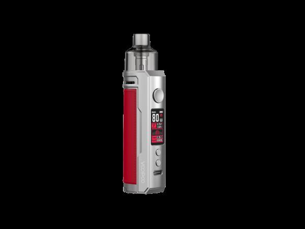 VooPoo Drag X E-Zigaretten Set silber-rot