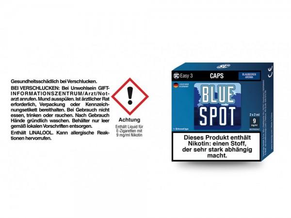 SC Easy 3 Caps Blue Spot Blaubeeren 9 mg/ml (2 Stück pro Packung) 5er Packung