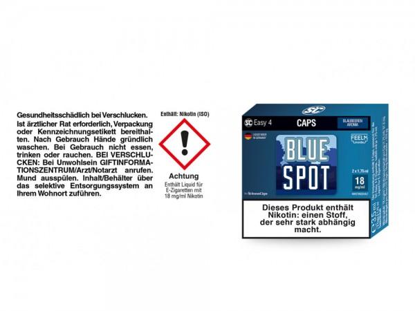 SC Easy 4 Caps Blue Spot Blaubeeren 18 mg/ml (2 Stück pro Packung)