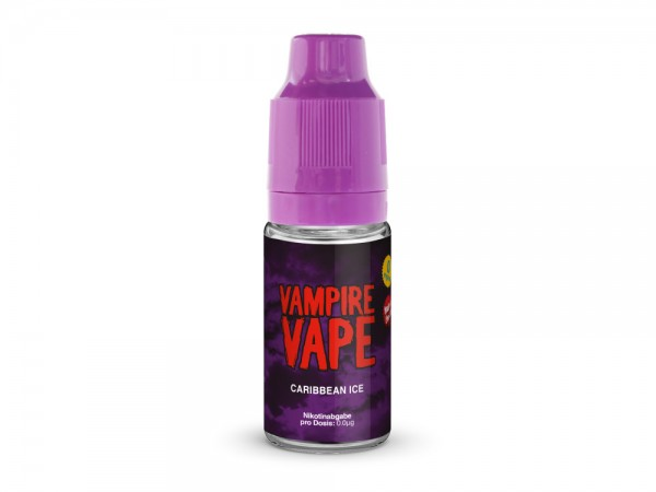 Vampire Vape Caribbean Ice - E-Zigaretten Liquid 12 mg/ml 20er Packung