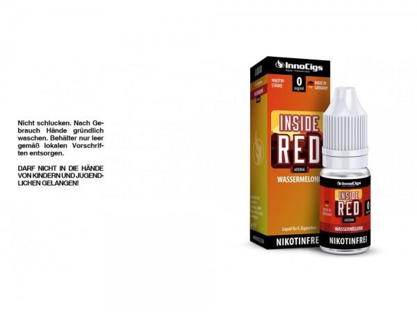 Inside Red Wassermelonen Aroma - Liquid für E-Zigaretten 0 mg/ml 10er Packung