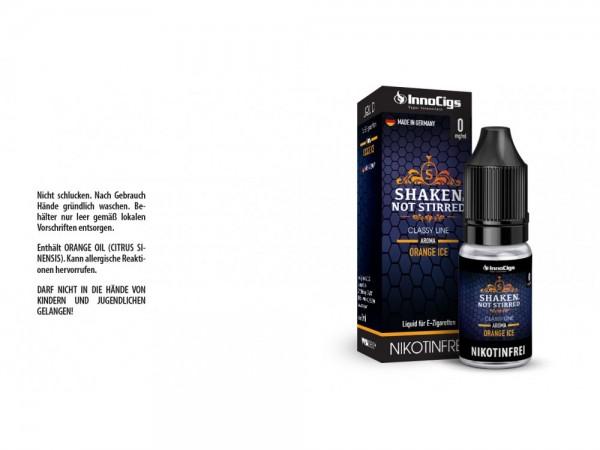Shaken, not stirred Orangen Aroma - Liquid für E-Zigaretten 0 mg/ml