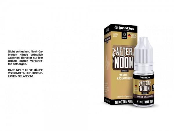 Afternoon Vanille-Käsekuchen Aroma - Liquid für E-Zigaretten 0 mg/ml 10er Packung