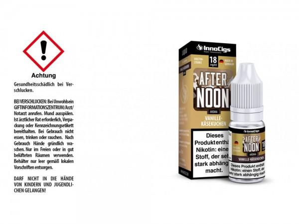Afternoon Vanille-Käsekuchen Aroma - Liquid für E-Zigaretten 18 mg/ml 10er Packung