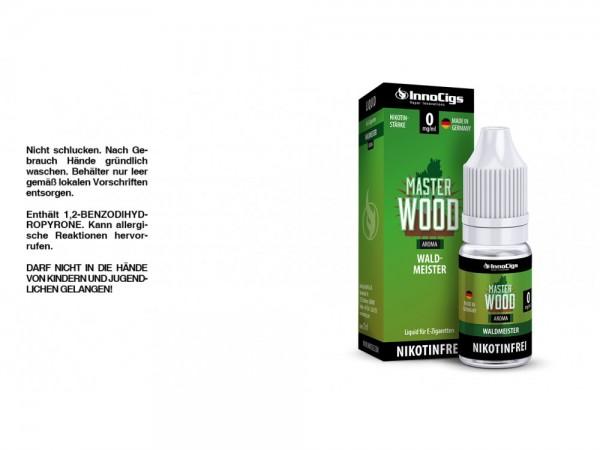 Master Wood Waldmeister Aroma - Liquid für E-Zigaretten 0 mg/ml 10er Packung