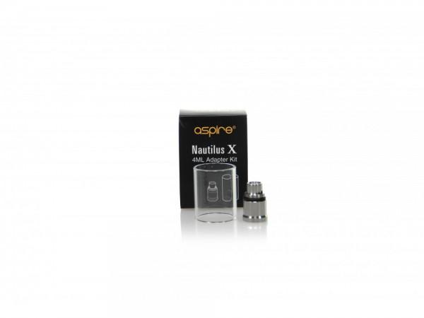 Aspire Nautilus X Glastank 4 ml + Adapter