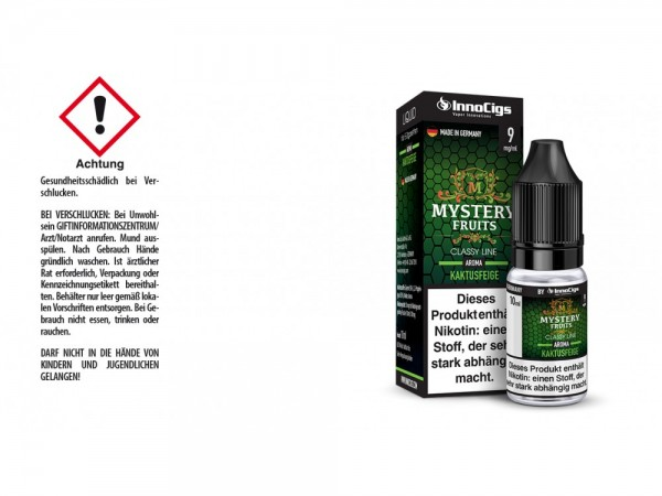 Mystery Fruits Kaktusfeige Aroma - Liquid für E-Zigaretten 9 mg/ml