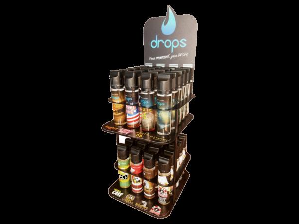 Drops - 40er Shortfill-Aufsteller