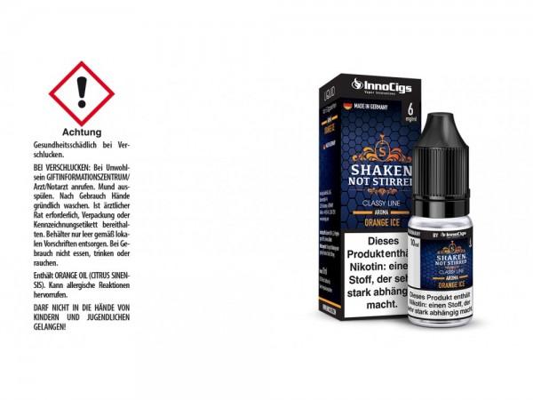 Shaken, not stirred Orangen Aroma - Liquid für E-Zigaretten 6 mg/ml 10er Packung