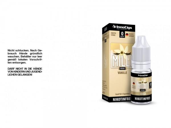 Milli Vanille Aroma - Liquid für E-Zigaretten 0 mg/ml 10er Packung