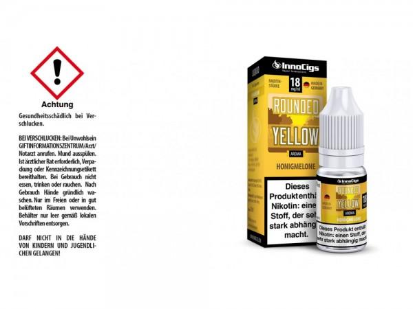 Rounded Yellow Honigmelonen Aroma - Liquid für E-Zigaretten 18 mg/ml 10er Packung