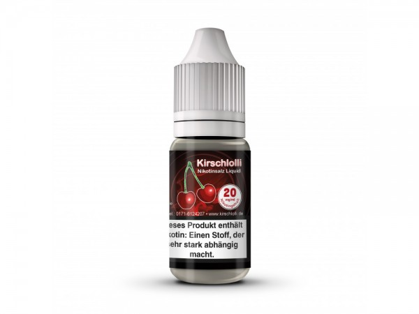 Kirschlolli - Kirschlolli - Nikotinsalz Liquid 20mg/ml 10er Packung